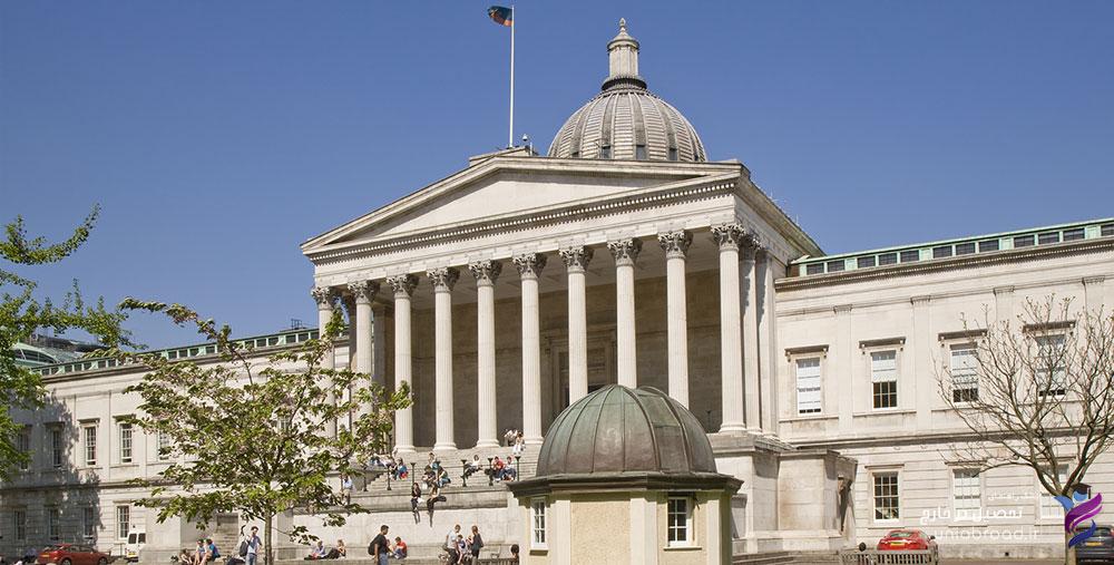 موقعیت جغرافیایی دانشگاه UCL