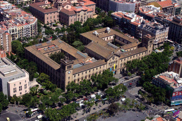پذیرش از دانشگاه بارسلونا