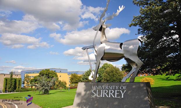 پذیرش از دانشگاه ساری انگلستان