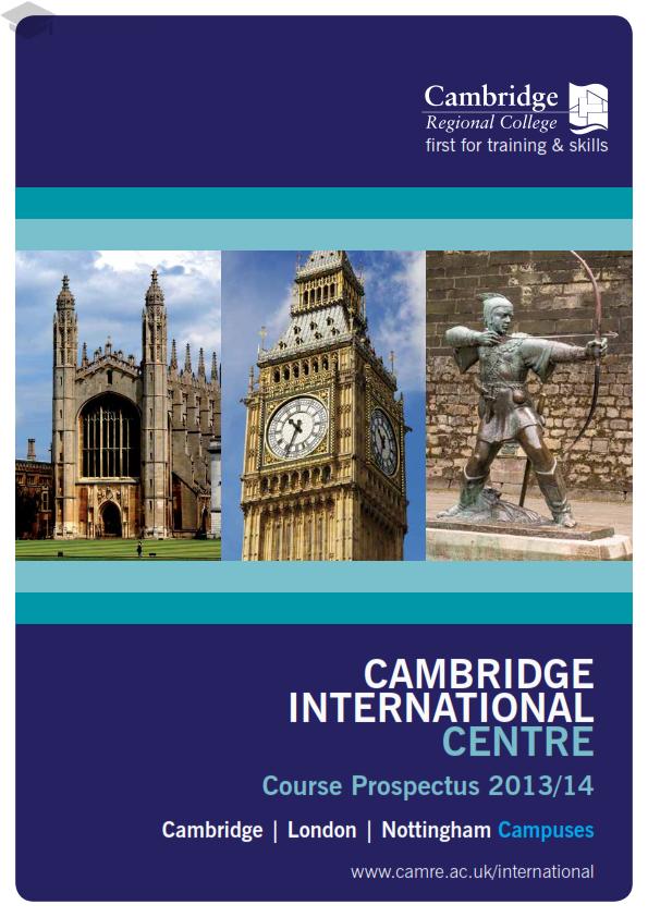 راهنمای دانشگاه کمبریج